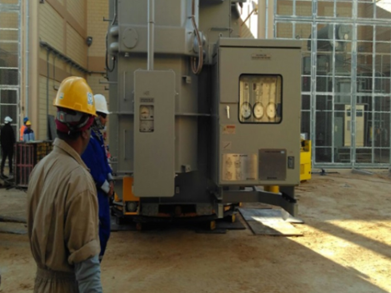 Construction of 132/13.8 KV Substation at Salah Eldin area